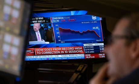 Stock market rout deepens on virus worries; indexes lose 4%