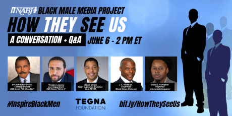 NABJ: NABJ Inspires Black Men with Special Virtual Event This Saturday