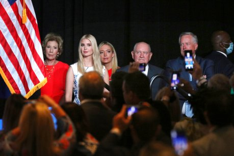 Trump convention blurs official business and politics
