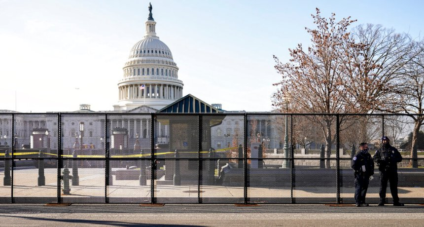 Fence Around the Capitol Returning Ahead of 'Justice for J6' Rally