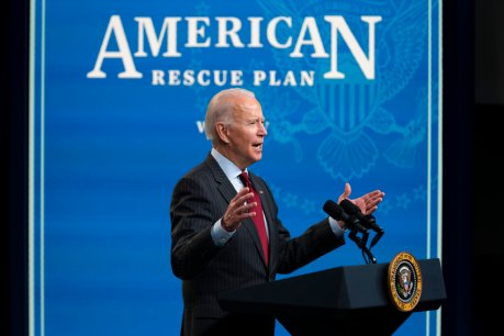 Biden signs $1.9 trillion COVID relief bill into law one day early