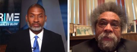 Charles Blow & Dr. Cornel West on Dems denying that America is a racist country