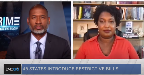 Stacey Abrams Talks 'Hot Call Summer' Campaign, Push to Pass For the People Act