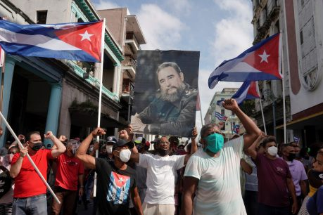 Cubans Protest Against Dictatorship, Lack of Access to Food and COVID-19 Vaccines