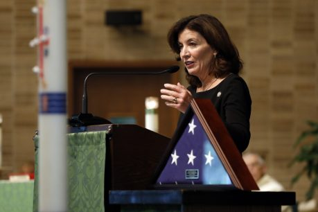 KathyHochulto Become First Female Governor of NY,Following Cuomo Resignation