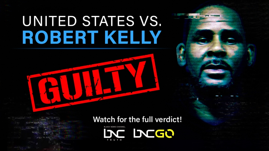 R. Kelly Found Guilty in Federal Sex Trafficking Trial