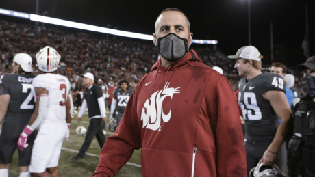 Washington State Fires Head Football Coach After Refusing Vaccine